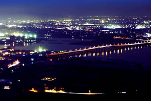 渥美半島の夜景